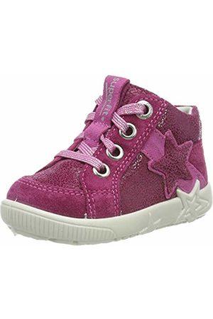 Superfit Baby Girls' Starlight Low-Top Sneakers (Berry Kombi 37) 7 UK