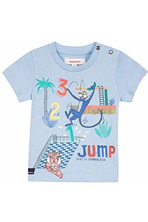 Catimini Baby Boys' CN10172 T - Shirt Bleu (Cornflower 40) 3-6 Months