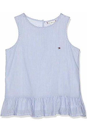 Tommy Hilfiger Girl's Endearing Stripe Top Slvls Vest, (Bright 123)