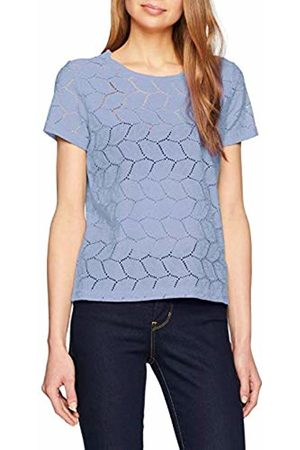 JDY Women's tag S/s Lace Top JRS Rpt2 Noos T-Shirt, Ice