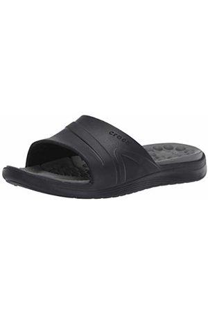 Crocs Unisex Adults' Reviva Slide Open Toe Sandals , ( /Slate )