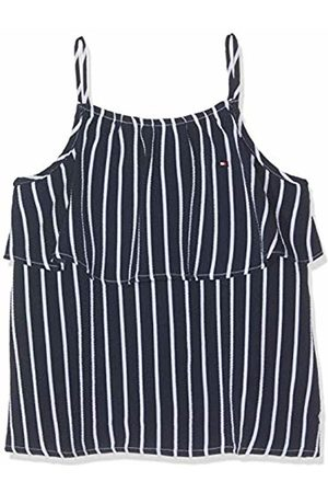 Tommy Hilfiger Girls Fine Stripe Top Slvls Vest