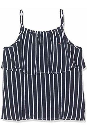 Tommy Hilfiger Girls Fine Stripe Top Slvls Vest
