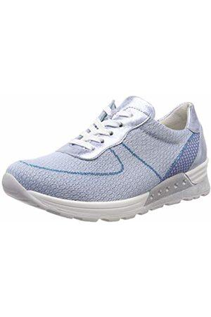Waldläufer Women's's Low-Top Sneakers (Hachi-Strick2 Foil Sky 267) 4.5 UK
