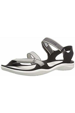Crocs Women's Swiftwater Webbing W Flat Sandal