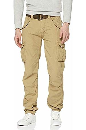 Schott NYC Schott (Brand National) Men's TRBATLE70PKR Trousers, (Army ARBE)