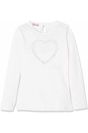 Brums Girl's T-Shirt Jersey Con Strass Kniited Tank Top, (Optical 01 001)