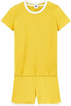 Petit Bateau Girl's Benny Pyjama Sets (Honey/Marshmallow 01) 4 Years (Size: 4A)