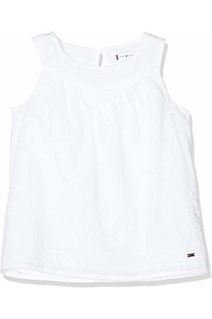 Tommy Hilfiger Girl's Charming Shiffley Top S/s Vest, (Bright 123)