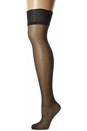 Levante Women's Romantic 20 Hold-Up Stockings, 20 DEN, Schwarz)