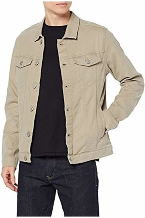 Jack & Jones NOS Men's Jjialvin Jjjacket AKM 528 STS Denim Jacket, Aluminum
