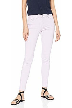 Tommy Hilfiger Women's MID Rise Skinny Nora 7/8 PSTLS Jeans