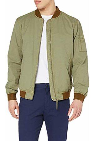 Hackett Hackett Men's Hkt Cotton Tech Bomber Jacket (Sand 847) Large