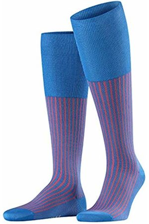 Falke Men's Oxford Stripe Knee-High Socks (Lagoon 6018) 43/44 (size: 43-44)