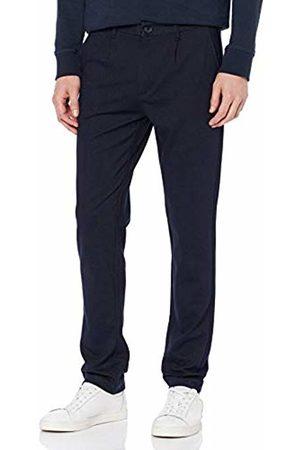 Jack & Jones NOS Men's JJIMARCO JJSANDY WW Navy Blazer Trousers