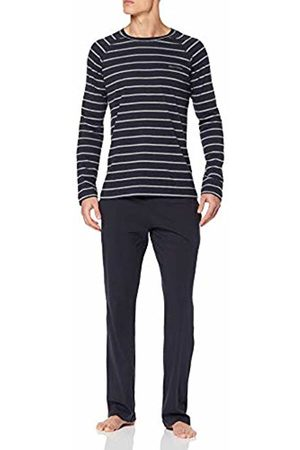 Marc O' Polo Men's M-LOUNGESET LS Crew-Neck Pyjama Sets, (Midnight 804)