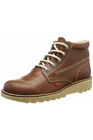 Kickers Men Kick Hi-Core Ankle Boots, (DK Tan)