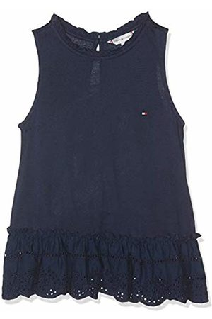 Tommy Hilfiger Girl's Ruffle Collar Shiffley Slvls Vest