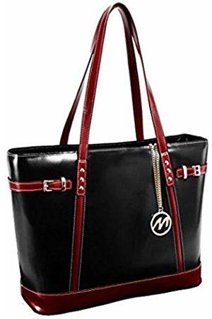 Mcklein Serafina Leather Shoulder, Canvas & Beach Tote Bag