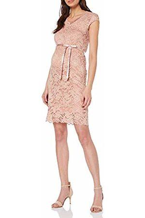 Mama Licious Women's Mlnewmivana Cap Jersey Dress A. Misty Rose