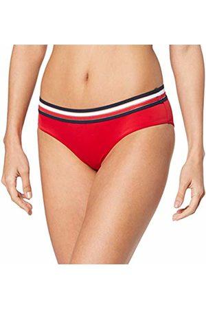 Tommy Hilfiger Women's Hipster LR Bikini Bottoms, (Tango 611)