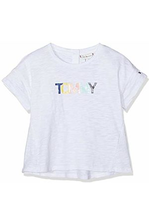 Tommy Hilfiger Baby Girls' Colored Tommy Logo S/s T-Shirt, (Bright 123)