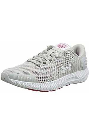 Under Armour Women's Charged Rogue Amp Running Shoes, (Gray Flux/Impulse / 100)