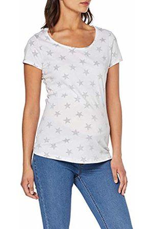Supermom Women's's Tee Ss Stars Maternity T - Shirt Optical P175