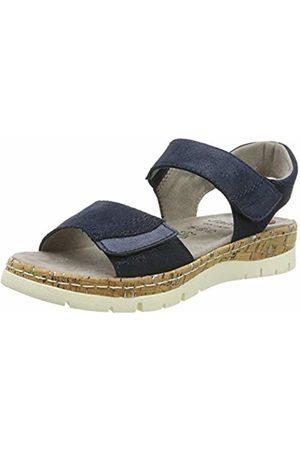 Jana Women's 8-8-28401-22 Ankle Strap Sandals