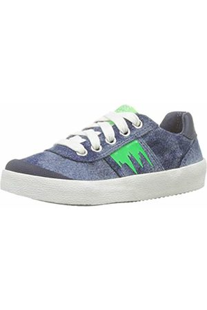 Geox J Kilwi Boy B Low-Top Sneakers, ( /Fluo C4457)