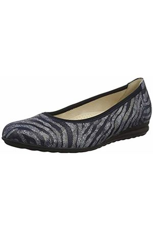 Gabor Shoes Women's Comfort Sport Ballet Flats (Bluette 38) 3 UK