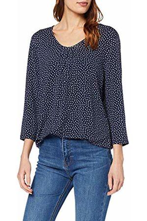 GINA LAURA Women's Shirt Relaxed, Punkte Minimal Long Sleeve Top, ( 73)