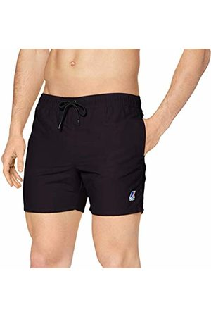 K-Way Men's Olivier Trunks Nero ( K02) XXX-Large