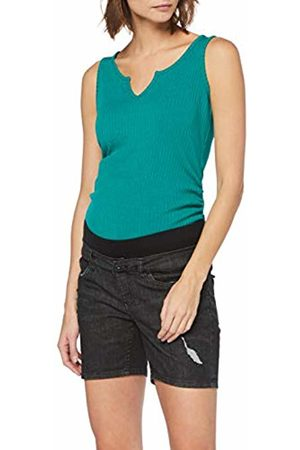 Supermom Women's's Jeans Utb Short Maternity ( Denim P116)