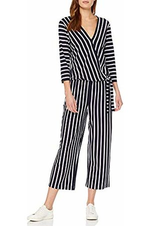 buy popular 01892 39e93 Women's 822900-44105 Jumpsuit (Blau/Ecru/Weiss Ringel 8093) 22 (Size: 48)