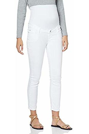 69f638e2e6aa6 Noppies Women's Jeans OTB 7/8 Slim Mila Maternity, Elfenbein De Blanc P002.  Amazon