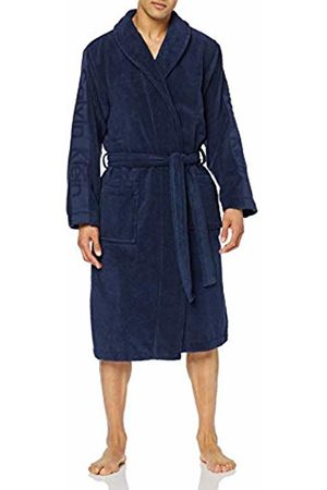 Calvin Klein Men's Robe Dressing Gown, ( Shadow 8sb)