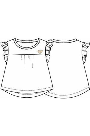 Steiff Girl's T-Shirt T-Shirt, (Bright 1000)