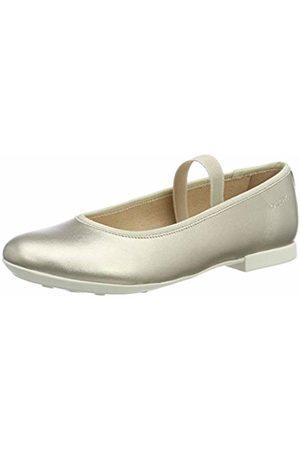 Geox Girl's Jr Plie D Ballet Flats