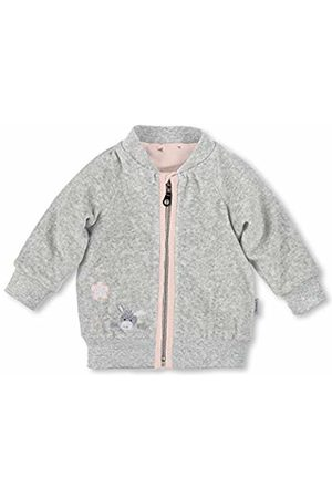 Sterntaler Baby Girls' 2621838 Jacket Silber 513