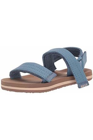 Reef Boys' Little Ahi Convertible Flip Flops (Tan/Navy TNA) 3.5 UK