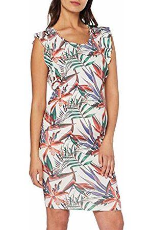 Noppies Women's Dress ss Pascale, Mehrfarbig De Blanc AOP P172