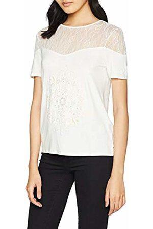 Desigual Women's TS_Cannes T-Shirt Egret EUR Medium