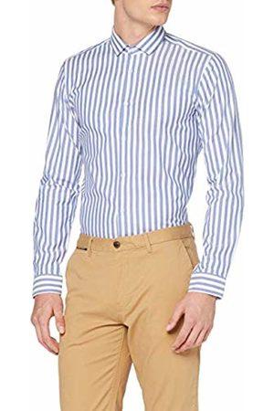 HUGO BOSS Men's's Erondo Casual Shirt, (Medium 422)