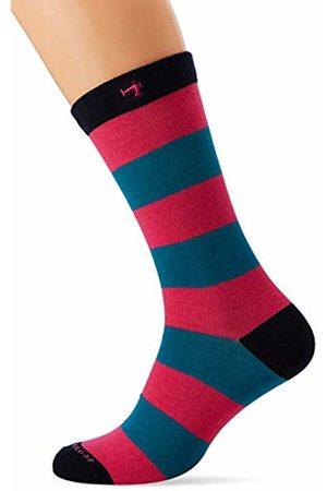 Scotch&Soda Men's Colourful Stripe and Solid Socks Calf