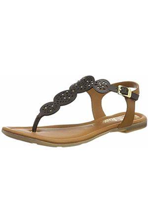 Women's 5 5 28102 22 Flip Flops, (Mocca 304)