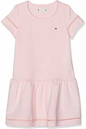 Tommy Hilfiger Girl's Drop Waist Ladder Lace Dress S/s (Almond Blossom 634) 48 (Size: 5)