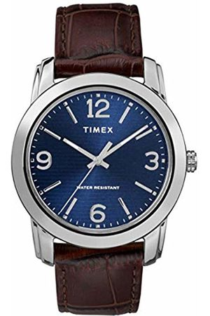 Timex Mens Analogue Classic Quartz Watch with Leather Strap TW2R86800