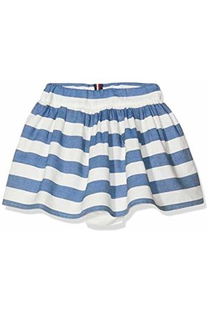 Tommy Hilfiger Baby Girls' Iconic Chambray Stripe Skirt (Bright 123)