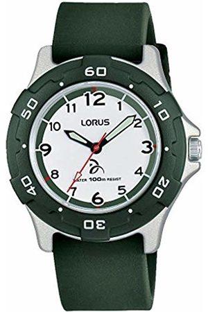 Lorus Boys Analogue Quartz Watch with Silicone Strap RRX15GX9